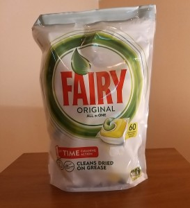 Fairy Original All In One Lemon. Tabletki do zmywarki. 60 sztuk.