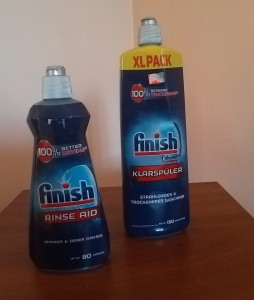 Finish płyn nabłyszczacz do zmywarki . Rinse Aid. 400 ml